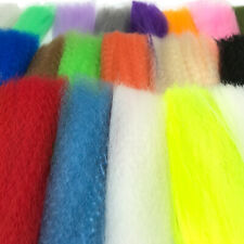 SLINKY FIBRE - Fly Tying Synthetic Bucktail Hair Saltwater Streamer Just Add H20