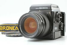 【NEAR MINT】 BRONICA GS-1 + Waist Level Finder + PG 65mm F/4 Lens from Japan 1473