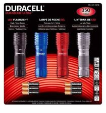 GENUINE Duracell Ultra 4 Pack LED Torch/Flashlights 350 Lumens Fast Free Ship!!
