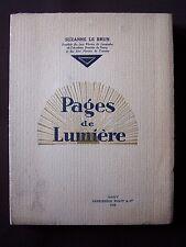 Pages de lumière
