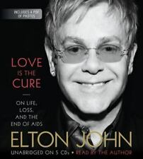 Love Is the Cure : On Life, Loss, and the End of AIDS by Elton John 5 CDS NEW