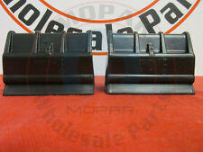 JEEP WRANGLER JK LEFT & RIGHT Rear window soft top retainers NEW OEM MOPAR