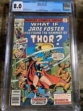 1978 MARVEL WHAT IF? #10 JANE FOSTER FOUND HAMMER OF THOR Love & Thunder CGC 8.0