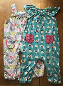 Frugi Baby boden Summer Romper Playsuits 12-18 Months Bundle