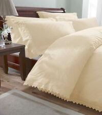 Balmoral, Cream Broderie Anglaise Single Bedding