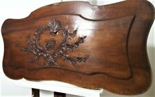 Large Louis XV flower wood carving garland Antique french architectural salvage