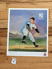 Whitey Ford– Ny Yankee 1989 Citgo Color Lithograph