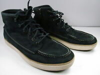 Timberland Earthkeeper Hudston Mens Blue Suede Chukka Boots Size US 11.5 EU 45.5