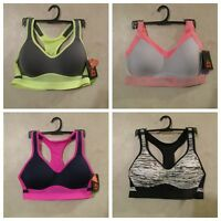 NWT RBX Size S & M Maximum Support Moisture Wicking Racerback Sports Bra