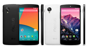 LG Nexus 5 - 16GB - (Unlocked) Smartphone