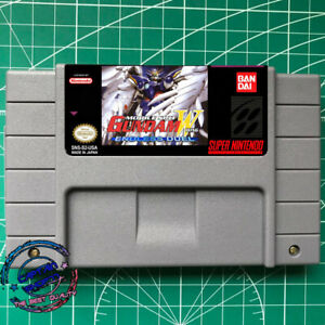 Gundam Wing: Endless Duel  (English Version)  SNES Video Game FREE SHIPPING