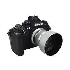 Professional Replacement Lens Hood LH-40B LH40B Fr Olympus Zuiko 45mm 1.8 White