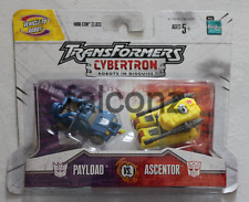Transformers Cybertron Payload and Ascentor Figure MISP Brand New