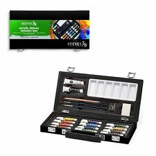 Reeves Acrylic Deluxe Wooden Box