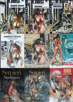 Serpieri AUSWAHL SF-Erotik Comic-Art Morbus Gravis Druuna Fantasy