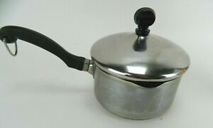 FABERWARE 18/10 1 Qt Stainless Steel Sauce Pan Cooking Pot Used w/ Lid