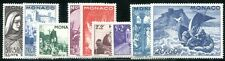 Monaco 1944 Yvert 265-273 ** tamponné 17 € MiNr 288-296 (f1650