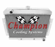 """2 Row 1"""" Cold Champion Radiator for 1970 - 1985 Jeep CJ Series Chevy Config"""