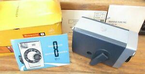 Vintage Kodak Brownie 8 Movie Camera 8mm f2.7 lens No.142 MIB UNTESTED Instruct