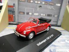 VW Volkswagen Käfer Beetle Cabrio 1302 LS rot red Cabriolet 1971 IXO Altaya 1:43