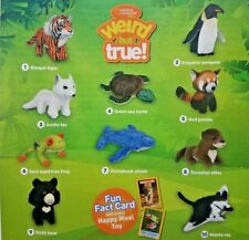 2018 McDonalds National Geographic Kids Plush Happy Meal Toys Pick Your Favorite
