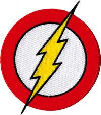 110003 The Flash DC Comics Classic Lightning Bolt Logo Superhero Iron On Patch