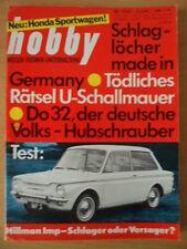 HOBBY 12 5.6. 1963 * Tresher Hillman Imp Do32 Honda 500 Volks-Hubschrauber