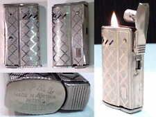 Briquet ancien { OPAL KARAT - Tempête } Vintage Wick Lighter Feuerzeug