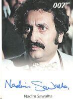 James Bond Archives 2014 Edition Nadim Sawalha Autograph Card