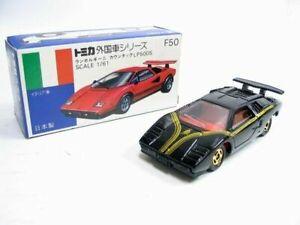 VINTAGE TOMICA F50 LAMBORGHINI COUNTACH LP500S JAPAN