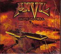 ANVIL / HOPE IN HELL * NEW DIGIPACK CD 2013 * NEU *