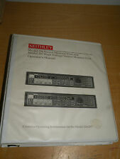 Keithley Model 236/237 Source-Measure Units Operator's Manual