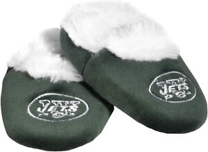 New York Jets NFL Baby Bootie Slippers ~ New On Package