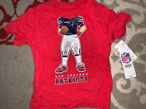 NFL Team Apparel New England Patriots Toddler Shirt Size 2T