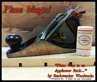 Plane Magic Tool Lube and Wood Restorer ,the answer to a smooth Planing