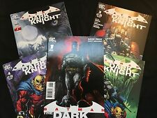 Batman: The Dark Knight Issue 1-5 Comics Set