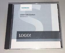 Siemens LOGO Programmier Software Soft Comfort V 8.2 Neu CD noch verschweißt