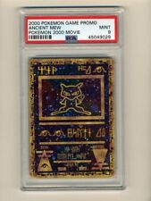 Pokemon PSA 9 MINT Ancient Mew 2000 Movie Promo Double Holo English Card