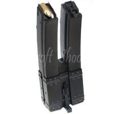 Airsoft Gear CYMA 560rd Hi-Cap Mag Long Dual Magazine for MP5 AEG Black