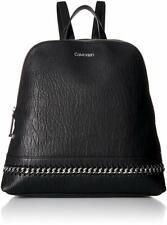 Calvin Klein Sonoma Bubble Lamb Zip Around Backpack Colour Black
