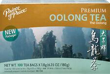 Prince of Peace - Premium Oolong Tea - 6.35 oz X 100 Tea Bags