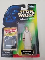 STAR WARS THE POWER OF THE FORCE MON MOTHMA 1997 ACTION FIGURE MOC! NEW ON CARD