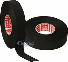 2 Rolls of TESA Adhesive Cloth Fabric Tape Exterior Harnessing (19mm x 25m Each)
