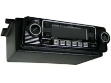 Unterbaukonsole Classic Oldtimer Retro Radio Autoradio USB CD MP3 Aux In schwarz