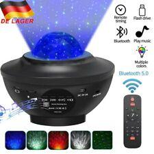 LED Sternenhimmel Projektor Nachtlicht Galaxy Starry Mond Weihnachten USB Light