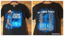 Jason Aldean 2011 My Kind of Party Tour T-Shirt Size Small Country Music