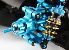 RC Coche Salto de actualización de Aluminio Azul TT-01 E hasta Trasero Nudillo Para Tamiya TT01E Azul