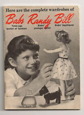 Vintage  Babs --  Randy --  Bill  Complete Wardrobes Mini Booklet  Circa 1960's