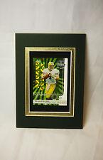 ** RARE ** Brett Farve Sports Portrait Green Bay Packers Old Football Card