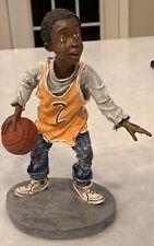 Early Americans Ebony Collection A Little Magic Basketball Figure Duncan Royale